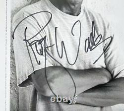 Roger Waters Pink Floyd Hand Signed 10x8 Promo Photo Rare David Gilmour
