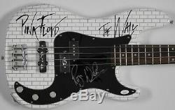Roger Waters Pink Floyd JSA Autograph Signed Guard Fender Bass Guitar The Wall