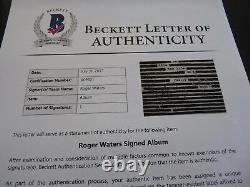 Roger Waters Pink Floyd Life We Want Autographed Signed LP Beckett Certified