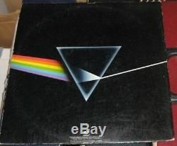 Roger Waters Pink Floyd Signed Autographed Dark Side Of The Moon Vinyl Album Bas