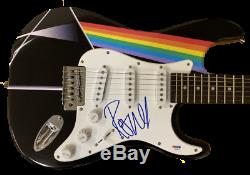 Roger Waters Pink Floyd Signed Full Size Custom Electric Guitar Autograph Bas