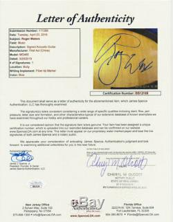 Roger Waters Pink Floyd Signed Guitar with Proof & COA JSA