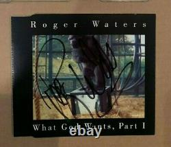 Roger Waters Pink Floyd Signed What God Wants Uk CD Ep Uacc
