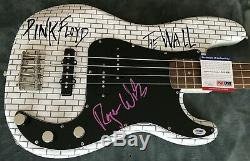 Roger Waters Pink Floyd The Wall AUTOGRAPHED SIGNED Fender Bass Guitar PSA/DNA
