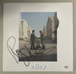 Roger Waters Signed Autographed The Wall Animals Pink Floyd Vinyl Album Psa/Dna
