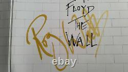 Roger Waters Signed (Photo Proof) PINK FLOYD THE WALL