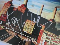 Roger Waters Signed Pink Floyd Animals Vinyl Lp Beckett Bas Coa A06303