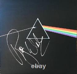 Roger Waters Signed Pink Floyd Autograph Album Dar Side of the Moon Vinyl Proof