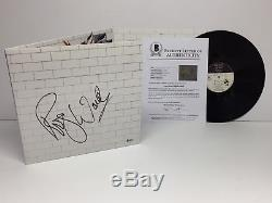 Roger Waters Signed Pink Floyd The Wall Vinyl Record Comfortably Numb Beckett
