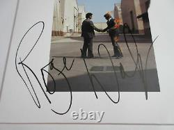 Roger Waters Signed Pink Floyd Wish You Were Here Vinyl Lp Psa/dna Coa Ac63002