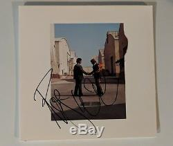 Roger Waters Signed Wish You Were Here Vinyl Album Pink Floyd Proof