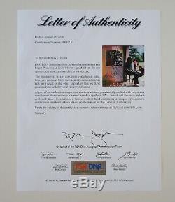 Roger Waters and Nick Mason Signed LP Record Album Ummagumma Pink Floyd PSA LOA