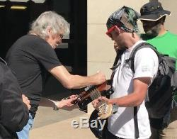 Roger Waters pink floyd signed guitar fender bass autographed exact proof photo