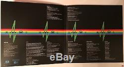 Roger Waters signed Pink Floyd album dark side of the moon lp with photo