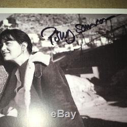 SIGNED DAVID GILMOUR POLLY SAMPSON 9x6 A THEATRE OF DREAMERS PHOTO PINK FLOYD