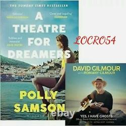 SIGNED David Gilmour Polly Samson, Pink Floyd Yes, I have ghosts CD & Book