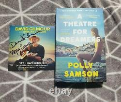SIGNED David Gilmour Polly Samson Yes I have Ghosts book and CD pink floyd