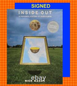 SIGNEDINSIDE OUT A PERSONAL HISTORY OF PINK FLOYD by NICK MASONROCK MUSIC