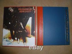 SYD BARRETT GENESIS PUBLICATIONS PSYCHEDELIC RENEGADES Pink Floyd Signed Book