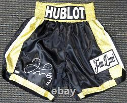 Sale! Floyd Mayweather Jr. Authentic Autographed Signed Black Boxing Trunks Jsa