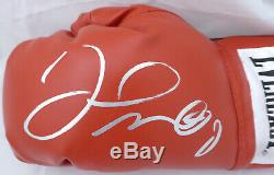 Sale! Floyd Mayweather Jr. Autographed Everlast Boxing Glove Silver Lh Beckett