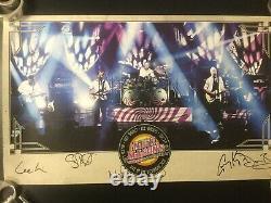 Saucerful of Secrets Poster Ltd. Ed. Signed Nick Mason Pink Floyd Pratt Kemp +2