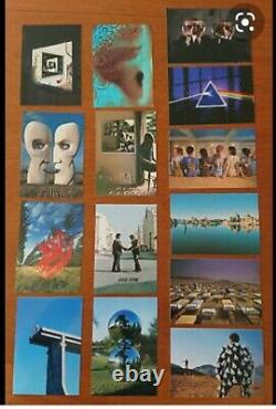 Storm Thorgerson Signed Pink Floyd Postcard Set RARE Floyd History