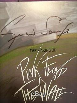 The Making of Pink Floyd The Wall Signed Scarfe, Gerald Book PROMO Film Cell