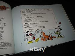 Walt Disney Carl Barks Signed BOOK Floyd Gottfredson MICKEY MOUSE IN COLOR #870