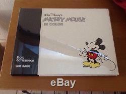 Walt Disney Mickey Mouse In Color Signed Floyd Gottfredson Carl Barks #1765/3000