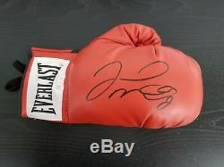 Welterweight Champ Floyd Mayweather Hand Signed Everlast Boxing Glove PAAS COA