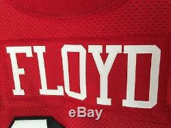 William Floyd Signed 49ers Throwback Jersey 1994 PSA Auto Inscribed 75th Anniver